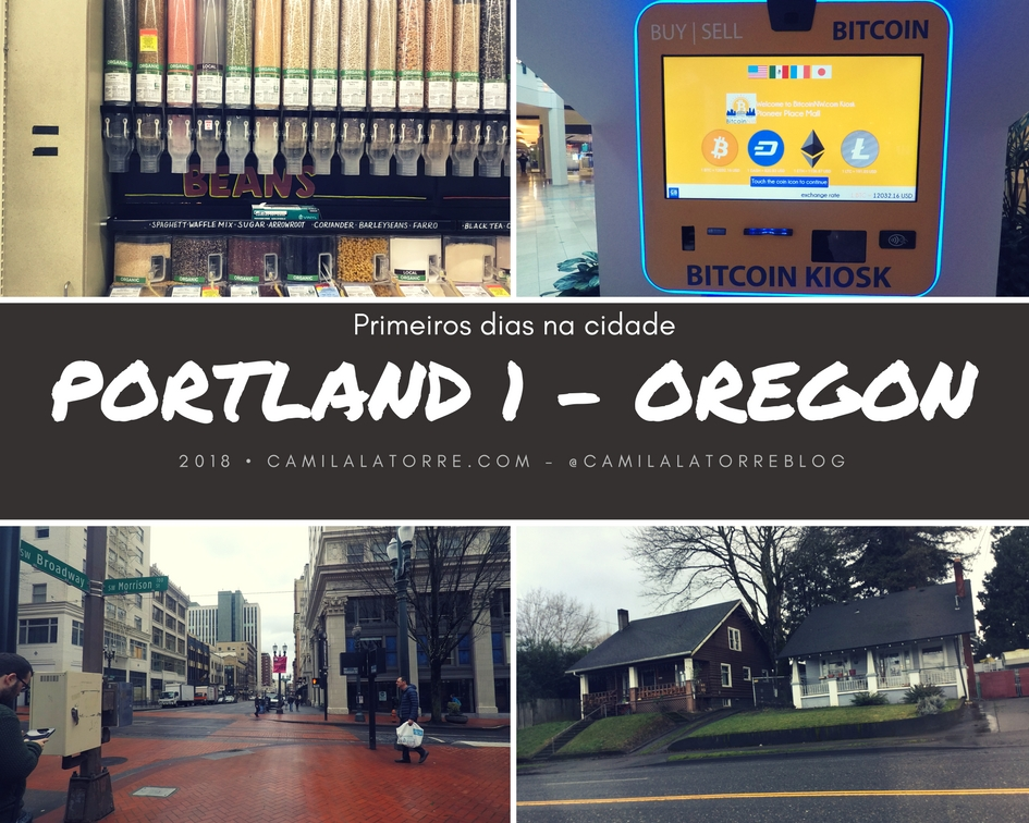 Portland – Downtown, Powells e Foodtrucks